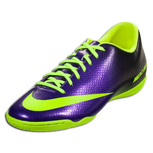 144127030 NIKE MERCURIAL VICTORY IV IC INDOOR SOCCER SHOES FOOTBALL Electro ...