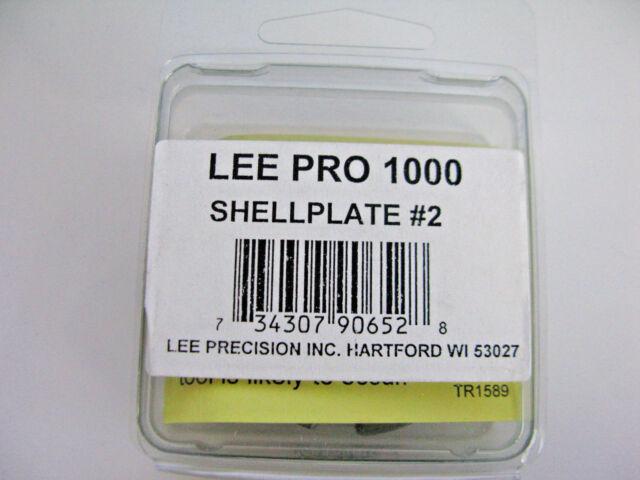 90652R Lee Precision Pro 1000 Progressive Press Shellplate #2 for 45 ACP New!