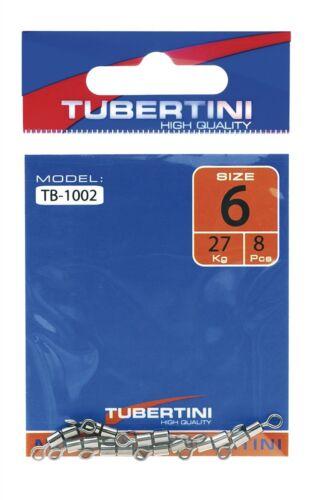 Tutte le Taglie TB-1002 TUBERTINI DOUBLE BARREL SWIVELS