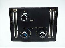 72-77 MERCEDES 450SL R107 CLIMATE CONTROL 3 KNOB 450SLC 350SL 280SL AC HEATER 5