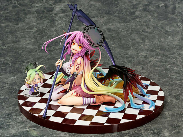 No Game No Life Jibril Great War Ver. 1/7 Scale PVC Figure New In Box