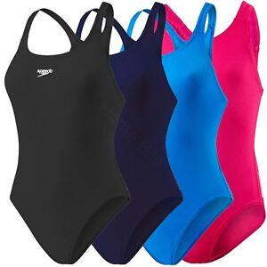 Speedo-Girls-Endurance-Swimsuit-Swimming-Lesson-Costume-Swimwear-Ages-5-16-New