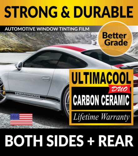 UCD PRECUT AUTO WINDOW TINTING TINT FILM FOR FORD MUSTANG COUPE 15-18