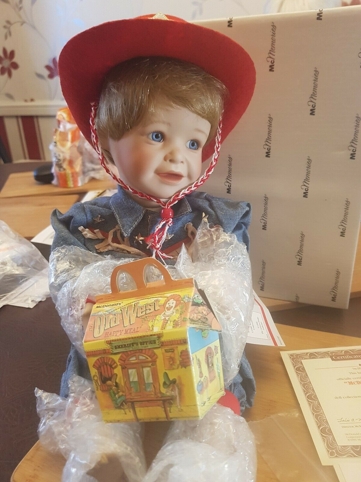 Mcdonalds Mcmemories  Old West doll