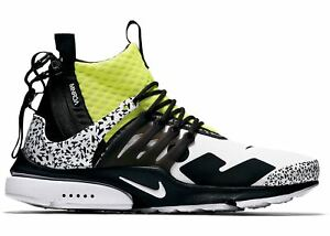 online store 82703 857a2 Image is loading NIKE-AIR-PRESTO-MID-ACRONYM-DYNAMIC-YELLOW-BLACK-