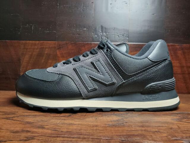Size 8 - New Balance 574 Black - ML574LHF for sale online | eBay