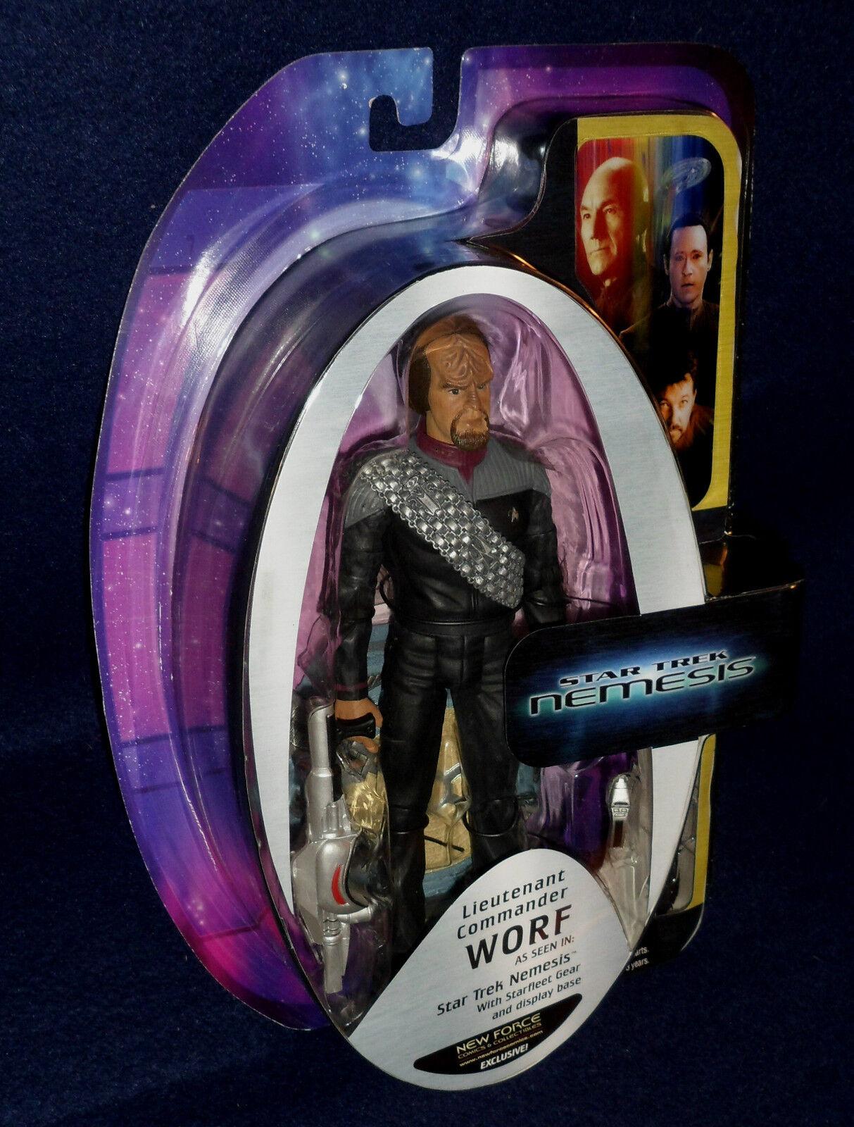 Star Trek The Next Generation Nemesis LIEUTENANT COMMANDER WORF 7  Action Figure