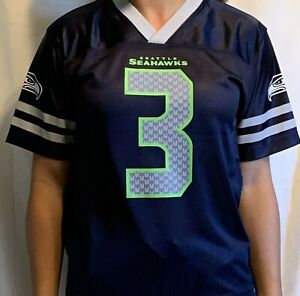 NEW-NFL-Seattle-Seahawks-Russell-Wilson-3-Boys-Jersey-Large-12-14