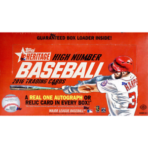 2016-TOPPS-HERITAGE-HIGH-NUMBER-FACTORY-SEALED-HOBBY-BOX-IN-STOCK-FREE-SHIPPING