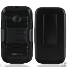 Huawei Inspira H867G / Glory H868c / Ascend Y215 / Y210D Case With Holster BLACK