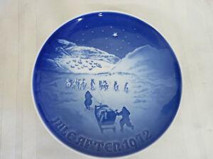 Christmas In Greenland.Bing Grondahl Copenhagen Jule After Plate 1972 Christmas