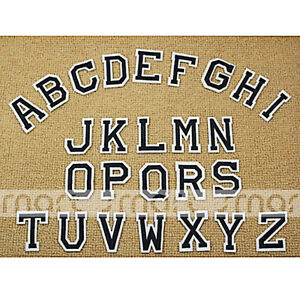 26PCS-Embroidered-Sew-On-Patches-English-Letter-Transfer-Fabric-Clothes-Applique