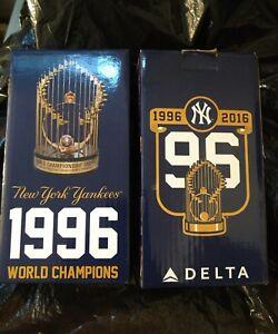 Details About Ny Yankees 1996 World Series Champions Replica Trophy Sga 8 12 2016 Nib