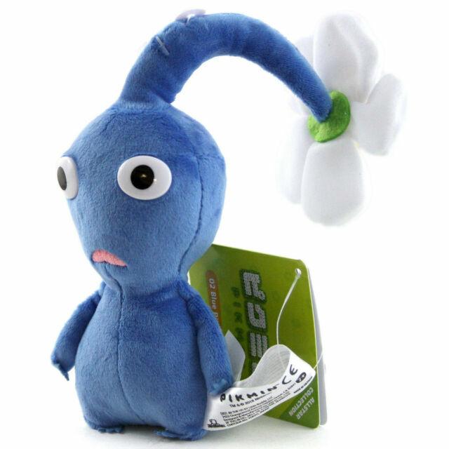 Little Buddy 1648 Pikmin Blue Flower 15cm Plush For Sale Online
