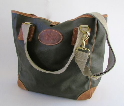 Mulholland Brothers Land Rover Large Leather Tote