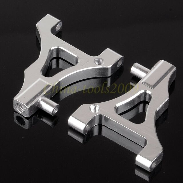 122019 SILVER Front Lower Suspension Arm 02148 For 1/10 RC Car HSP Redcat Himoto