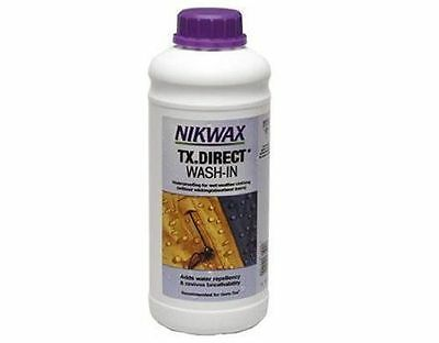 Nikwax TX Direct Wash-In Waterproofing for Outdoor clothing Re-Proofer