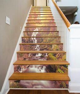 3D-Grove-View-893-Stair-Risers-Decoration-Photo-Mural-Vinyl-Decal-Wallpaper-AU