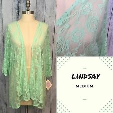 Lularoe Lindsay Medium ~ Sexy Green Lace Design ~ UNICORN!!!