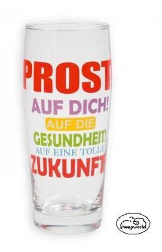 """Wortheld Sheepworld Bierglas//Bier Glas//Gläser /""""Prost/""""  *Neuheit 2013*"""