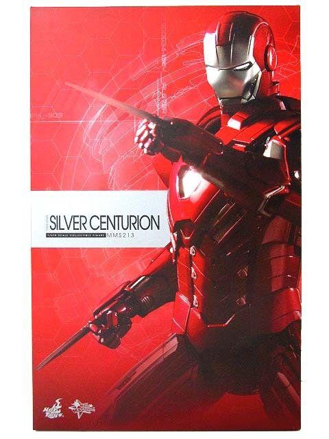 Hot Juguetes 1 6 Movie Masterpiece Ironman MK33 plata Centurion Figura de Acción Japón