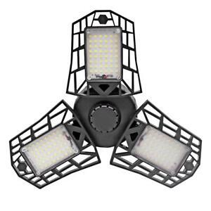 60W-E27-Deformable-144LED-Garage-High-Bay-Lumiere-Plafonnier-Projecteur-85-265V