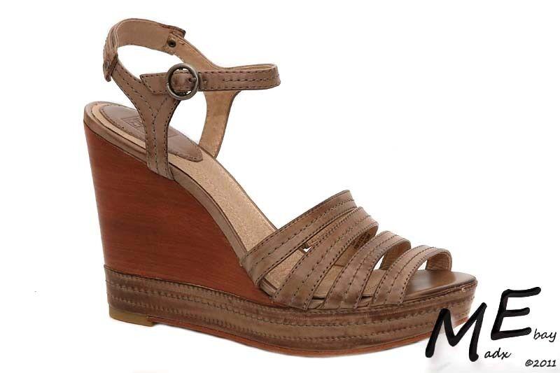 New Frye Corrina Stitch Platform Leather Women shoes Sz10 (MSRP  210)
