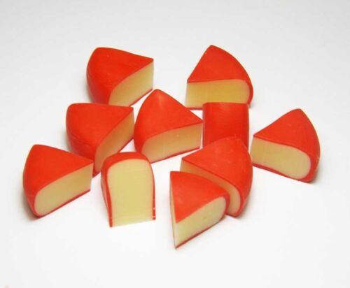 50 Dollhouse Miniature Edam Cheese Slices *Doll Mini Tiny Food Breakfast Kitchen