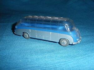 698A Wiking 730/6 Bus Setra S6 1956 Ho 1/87 Plastique