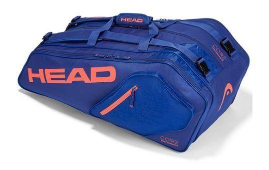 Head Core Core Core 9R Supercombi Blau Orange Tennistasche 5d498f