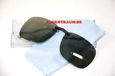 Sonnenbrillenclip Sonnenclip grau/grün Vorhänger Sonnenbrille Switch it Neu