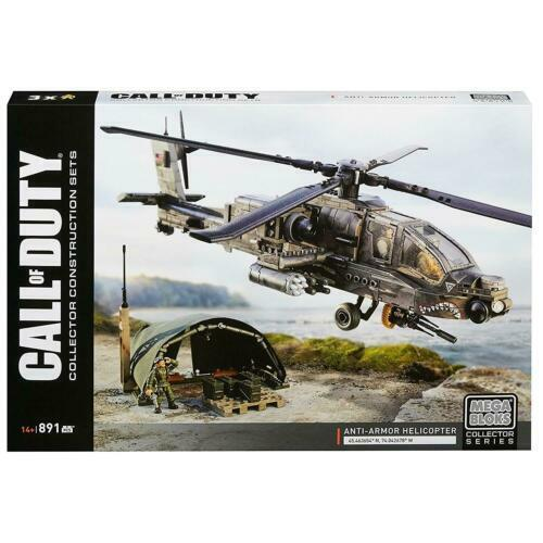 Mega Bloks Call of Duty Anti Armor Helicopter 891 pieces , Mega Construx.