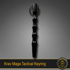 Krav Maga Self-Defence GROOVED Key Ring Solid Alloy Tactical Tool