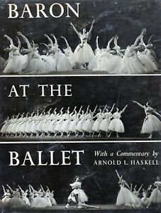 RARE-1950-BOOK-Baron-at-the-Ballet-Commentary-Arnold-L-Haskell-DANCE-Book