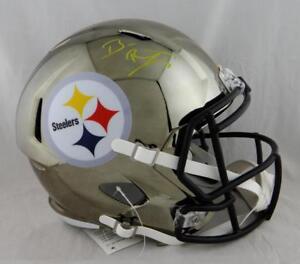 d10dc885c Image is loading Ben-Roethlisberger-Signed-Pittsburgh-Steelers-F-S-Chrome -Helmet-