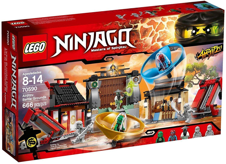 Lego Ninjago 70590 -  L'arène De Combat Airjitzu