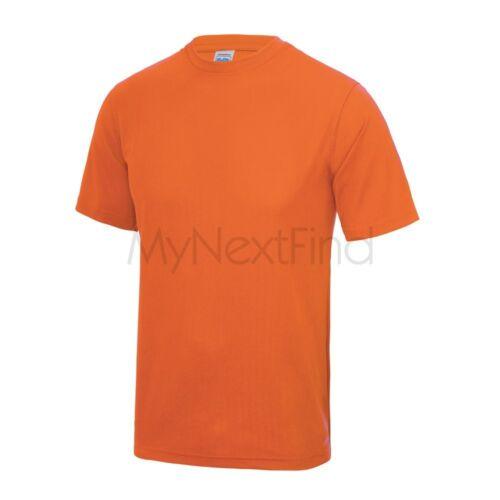 AWDis Just Cool Boys Girls Kids Sports Gym Cool Tee T-Shirt