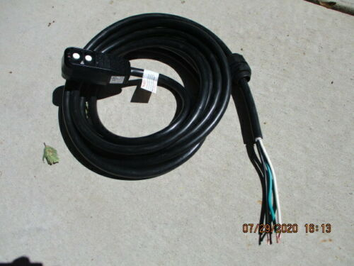 120V Spa//Hot Tub GFCI Power Cord 15 Amp New 15 ft 14 gauge wires