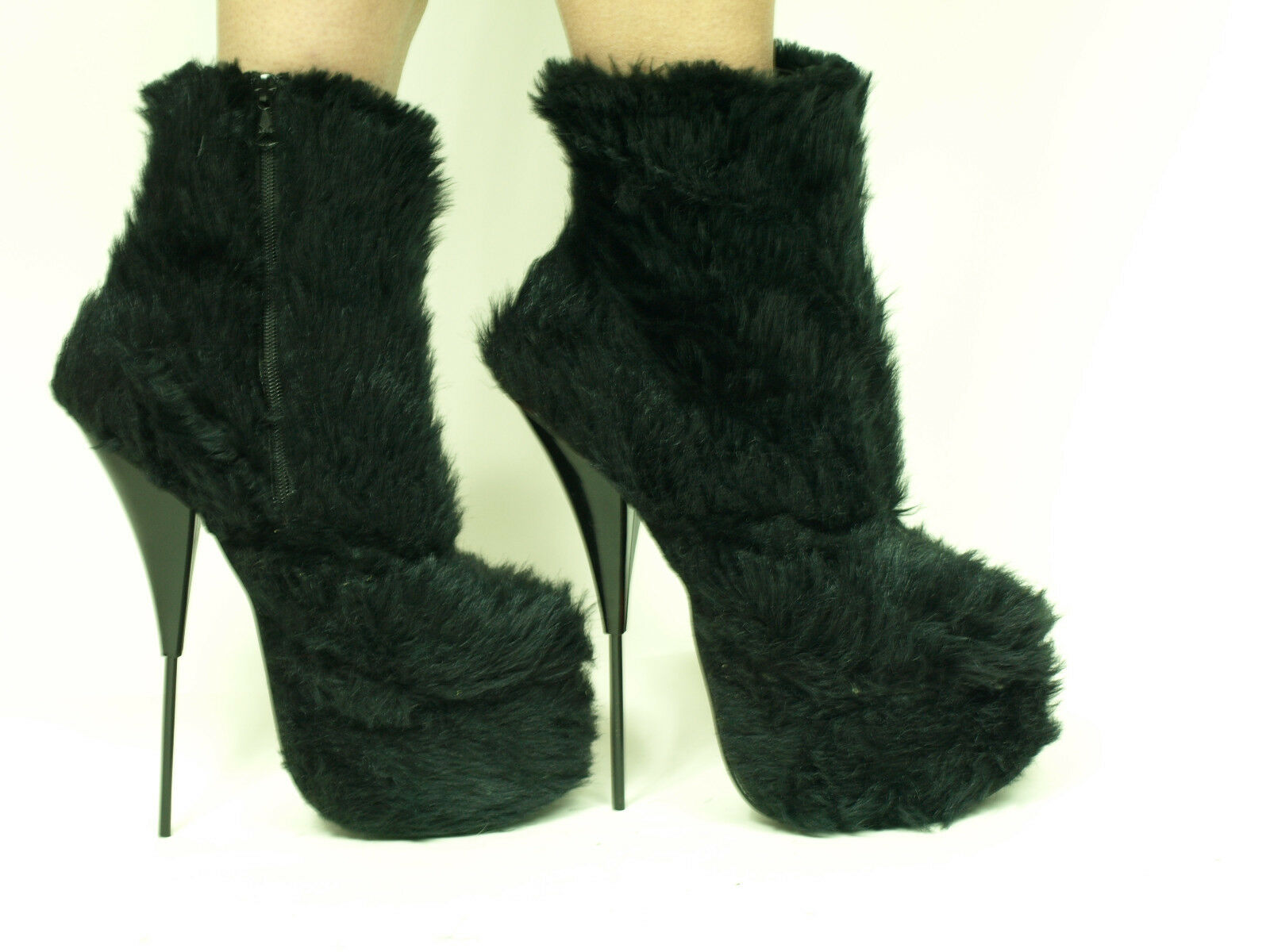 PROMOTIONS Caballo HAIR Tacones Tacones Tacones Altos botas Talla 5-16 - 8  - 20cm producen Polonia  diseño único