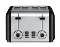 Cuisinart Cpt-340 Compact Stainless 4-slice Toaster, Brushed Stainless , New, Fr on sale