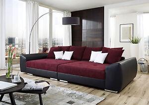 big sofa trend federkern made in germany direkt vom hersteller freie farbwahl ebay. Black Bedroom Furniture Sets. Home Design Ideas