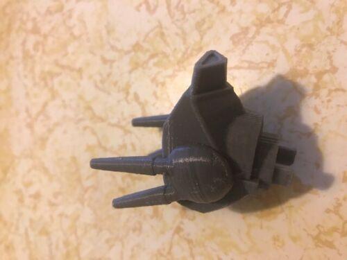 Matchbox 3D printed Robotech Veritech Valkyrie Parts replacement Head