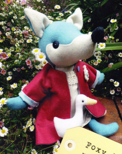 cute fox /& duck softie//toy PATTERN PATTERN SALE Foxy /& Waddles