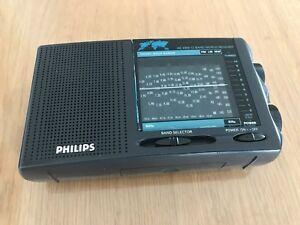 Philips-Radio-Weltempfaenger-AE-3350-Kofferradio-12-Band-World-Receiver