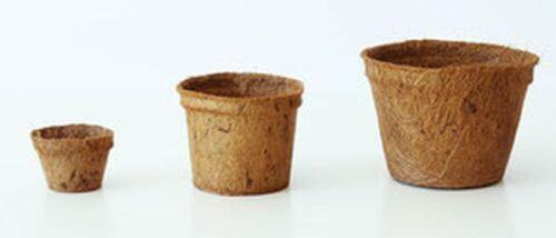 Kokospflanztopf 18 cm Anzuchttöpfe Kokostöpfe