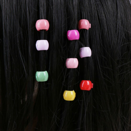 100 Stück Mini-Haarspangen Mädchen süße Bonbonfarbe Perlen KopfbedeckuRSQY