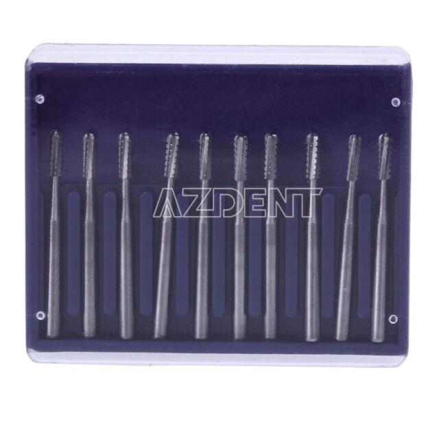 Dental Lab Clinic Burs Round Tungsten Steel Carbide F/HighSpeed Handpiece FG1558
