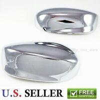 2008-2014 Honda Accord Triple Chrome Plated Mirror Trim Covers Lx Ex Sport