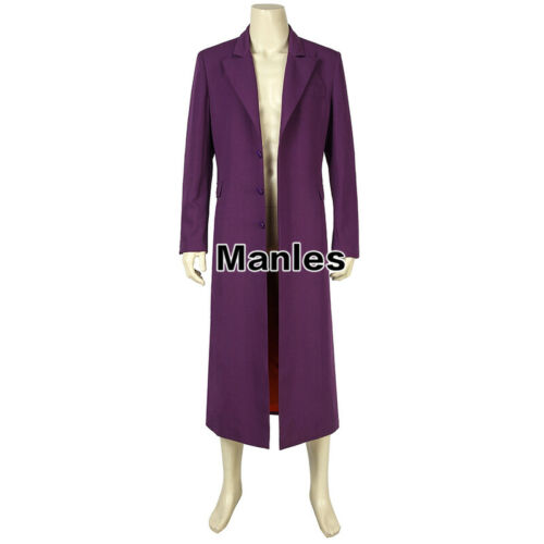 Marvel Superhero Joker Cosplay Heath Ledger Costume Outfits Party Christmas Suit