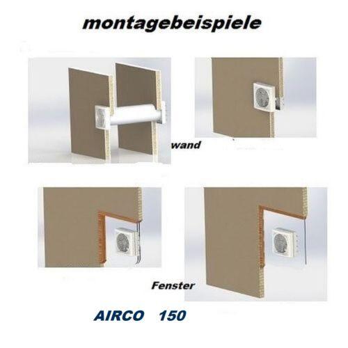 Wandlüfter Badlüfter fenêtre Ventilateur Ventilateur//Ventilateur Ventilation Appareil